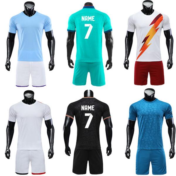 2019 2020 OEM soccer jersey No logo football Shirts 4