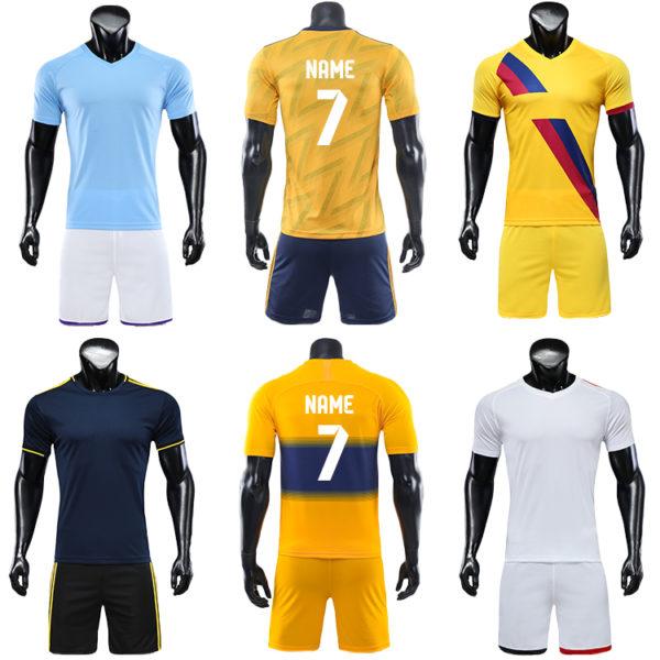 2019 2020 big and tall soccer jerseys american football wear jersey 6