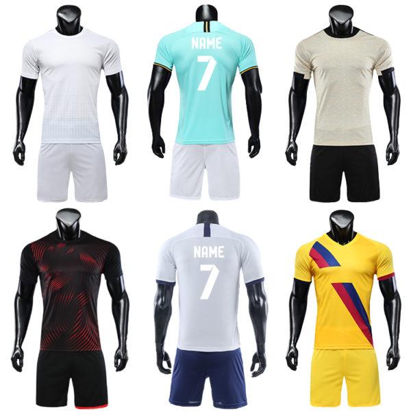 2019 2020 blank football jerseys for printing TEAM SOCCER JERSEY 1