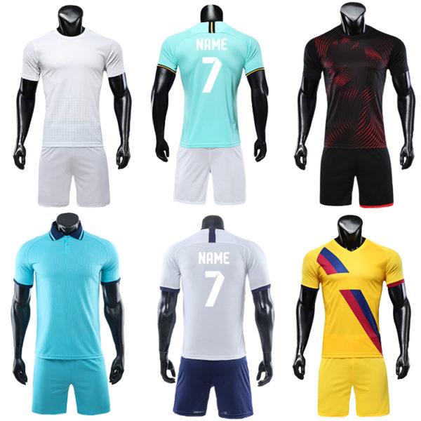 2019 2020 blank football jerseys for printing TEAM SOCCER JERSEY 5