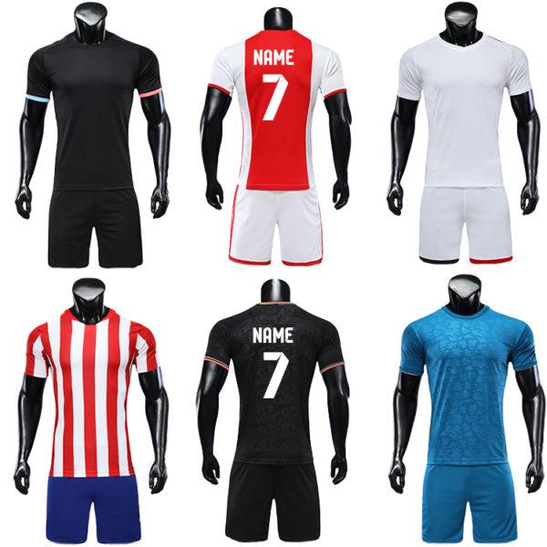 2019 2020 blank long sleeve soccer jersey football kit big size jerseys 2