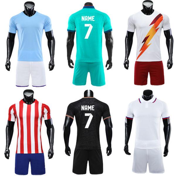 2019 2020 blank long sleeve soccer jersey football kit big size jerseys 4
