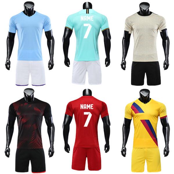2019 2020 blank long sleeve soccer jersey football kit big size jerseys 5