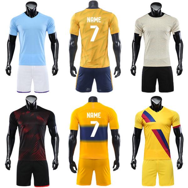 2019 2020 blank long sleeve soccer jersey football kit big size jerseys 6