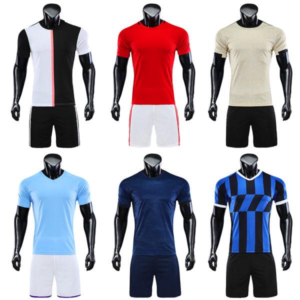 2019 2020 camisas futebol blank soccer jerseys black orange jersey 2