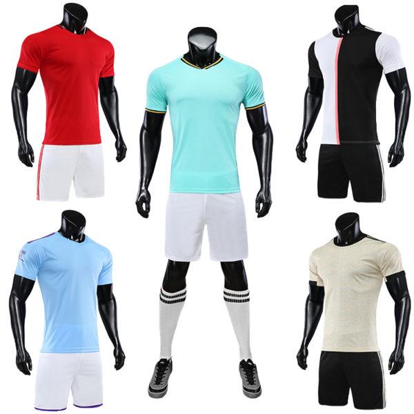 2019 2020 camisas futebol blank soccer jerseys black orange jersey 6
