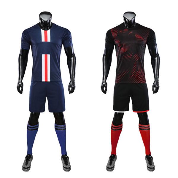 2019 2020 cheap soccer team uniforms jerseys jersey set 4