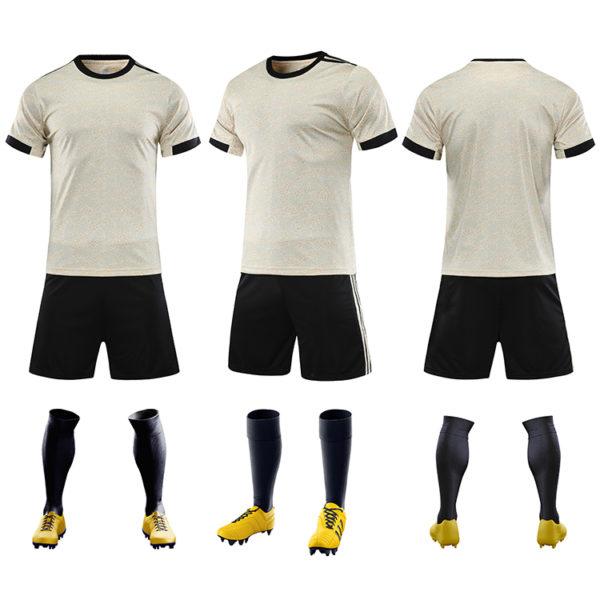 2019 2020 cheap soccer uniform set campera futbol black and red jersey 1