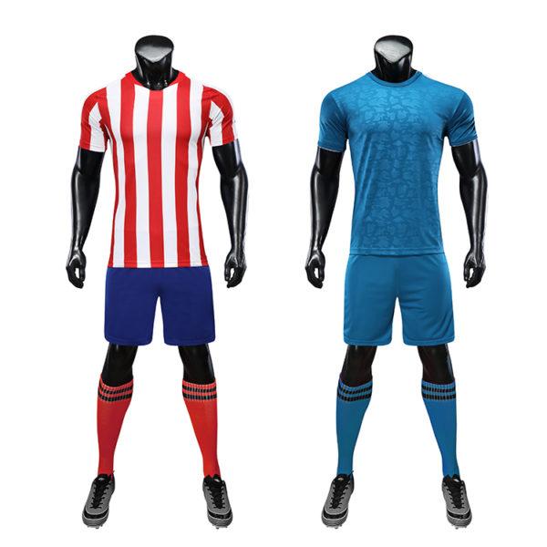 2019 2020 custom thai quality cheap soccer jersey sublimation uniform sets 1
