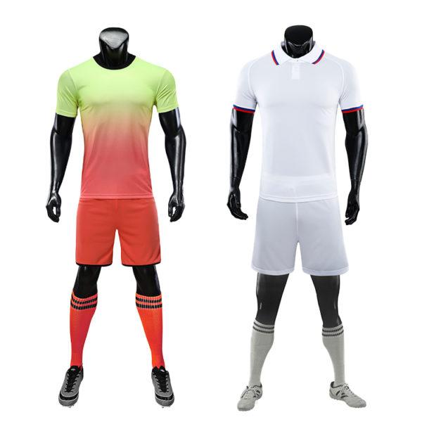 2019 2020 custom thai quality cheap soccer jersey sublimation uniform sets 2