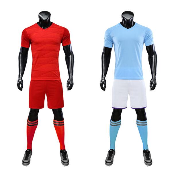 2019 2020 custom thai quality cheap soccer jersey sublimation uniform sets 3