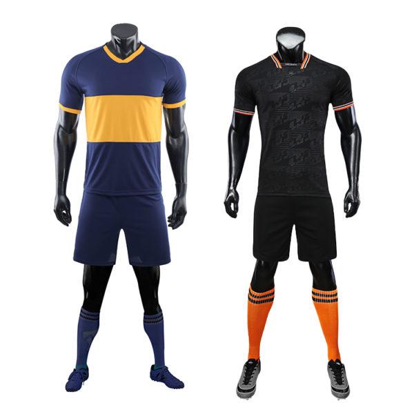 2019 2020 custom thai quality cheap soccer jersey sublimation uniform sets 4