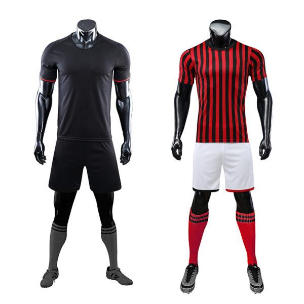 2019 2020 custom thai quality cheap soccer jersey sublimation uniform sets 5