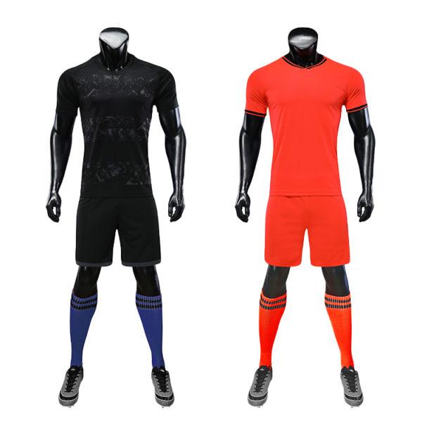 2019 2020 custom thai quality cheap soccer jersey sublimation uniform sets 6