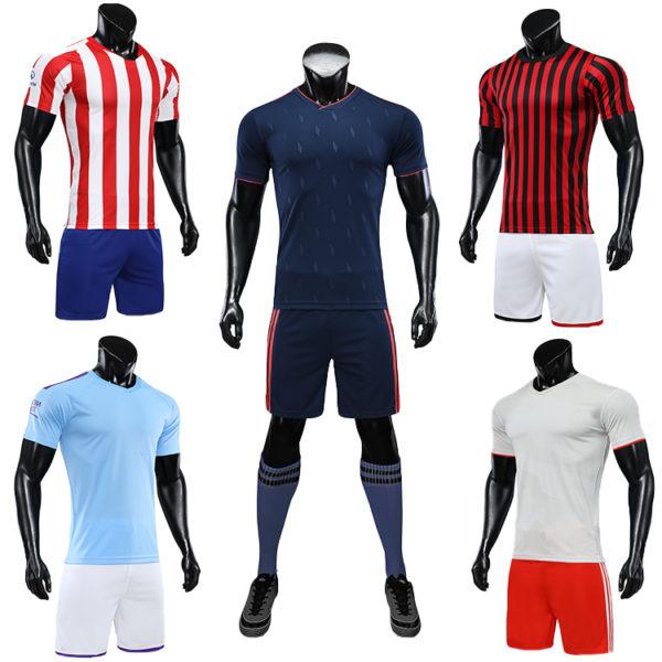 2019 2020 football jacket clothes Jersey set 4