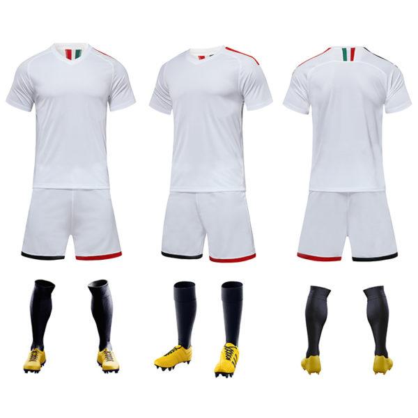 2019 2020 football jersey in black custom men thai quality cheap soccer 4