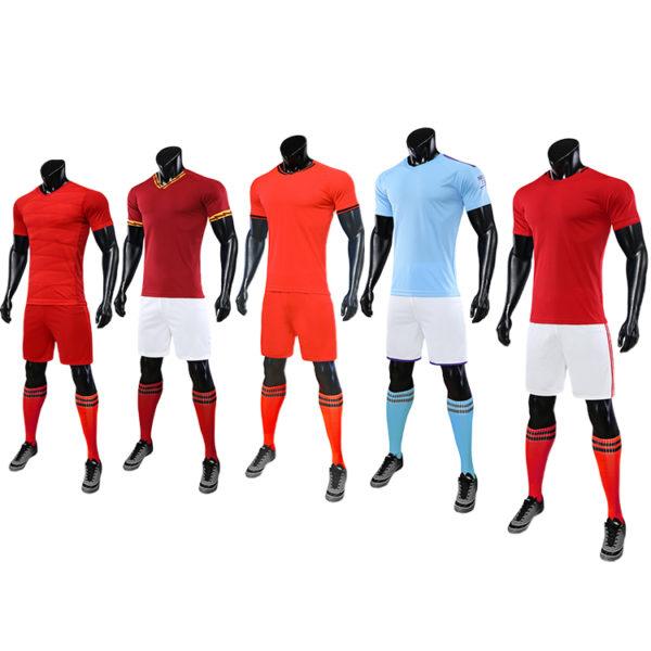 2019 2020 football jerseys white and red jersey yellow shirt 6