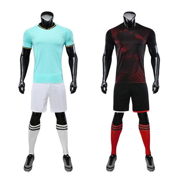 2019 2020 football long sleeve kits full set soccer kit 5