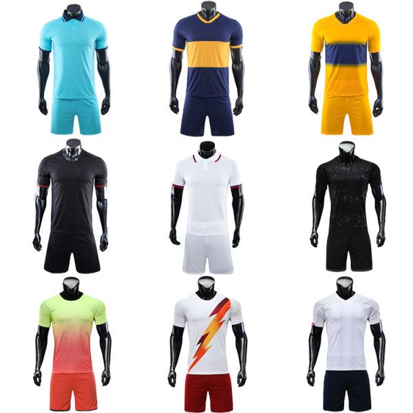 2019 2020 football soccer jersey wear set pads 2