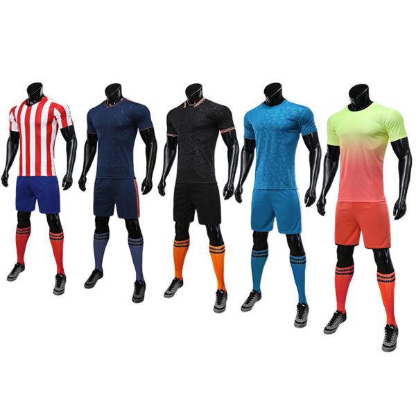 2019 2020 football soccer jersey wear set pads 5