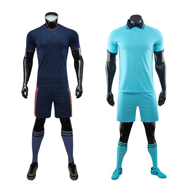 2019 2020 football training set jersey clothes 6