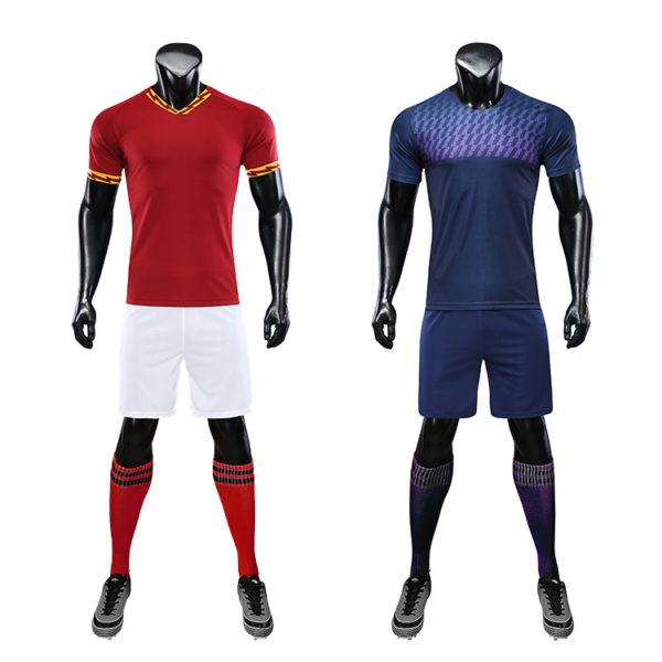 2019 2020 football training tracksuit black 4
