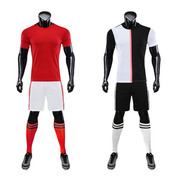 2019 2020 football training tracksuit black 6