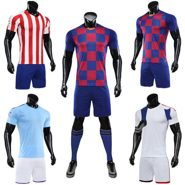 2019 2020 football uniforms training tracksuit 4
