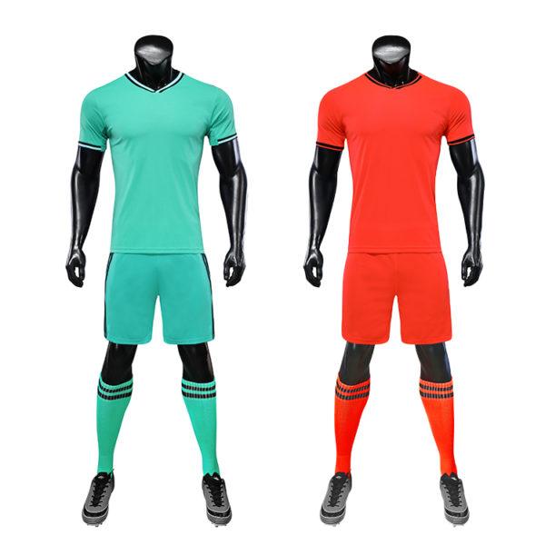 2019 2020 football uniforms wholesale green color 1