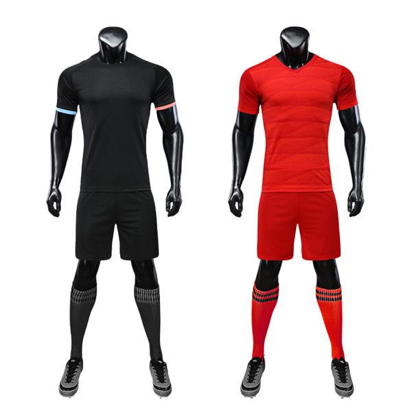 2019 2020 football uniforms wholesale green color 2