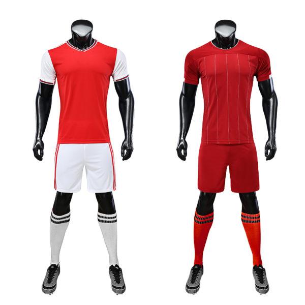 2019 2020 football uniforms wholesale green color 3