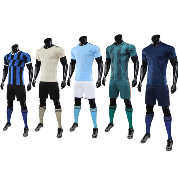 2019 2020 football wear uniforms set training tracksuits 1