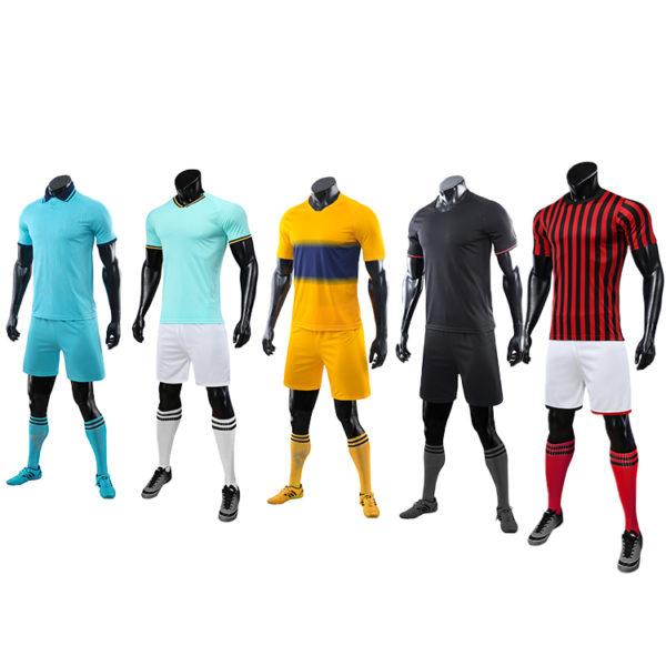 2019 2020 long sleeve football jersey black blank latest soccer design 5