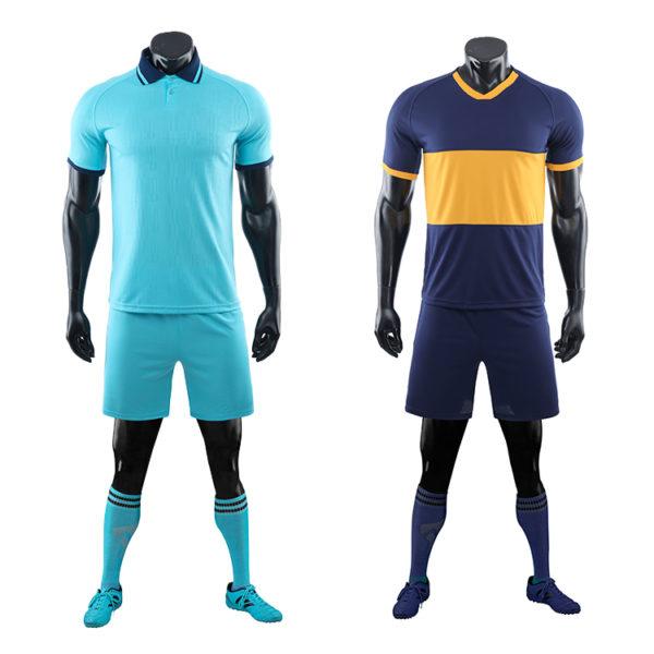 2019 2020 long sleeve football jersey black blank latest soccer design 6