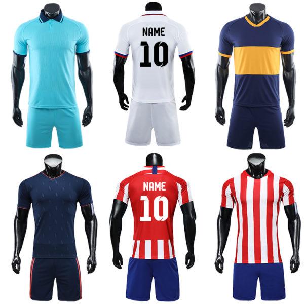 2019 2020 long sleeve football jersey latest soccer design jogging 2