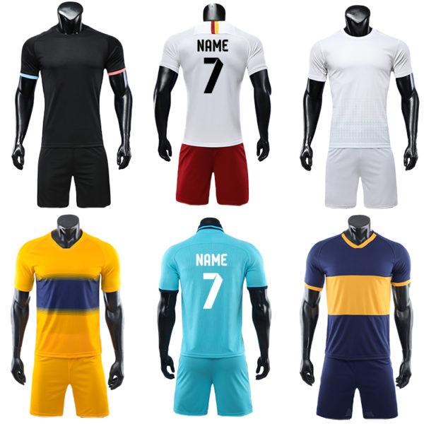 2019 2020 long sleeve soccer uniforms kids jerseys football kit 3