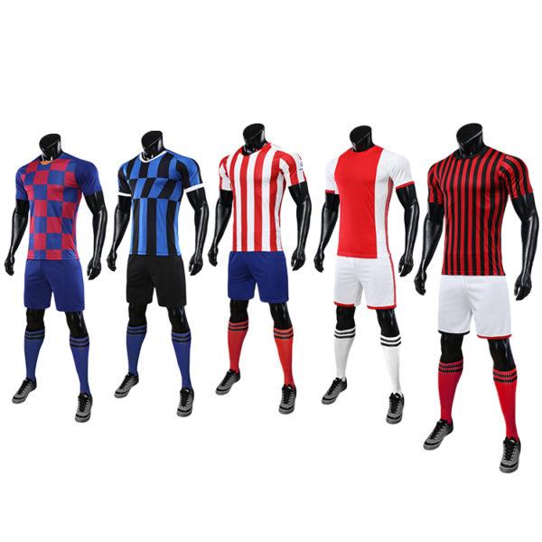 2019 2020 long sleeve soccer uniforms kids jerseys football kit 5