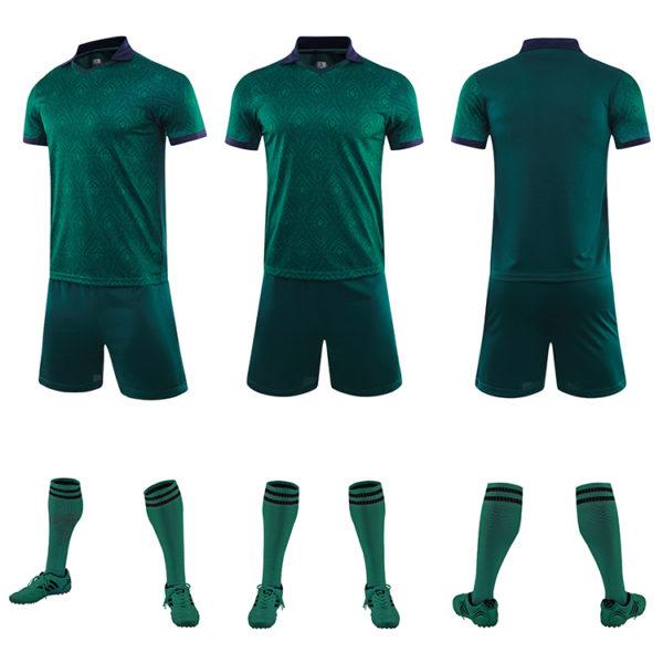 2019 2020 mens soccer uniform set jersey men football shirt 3