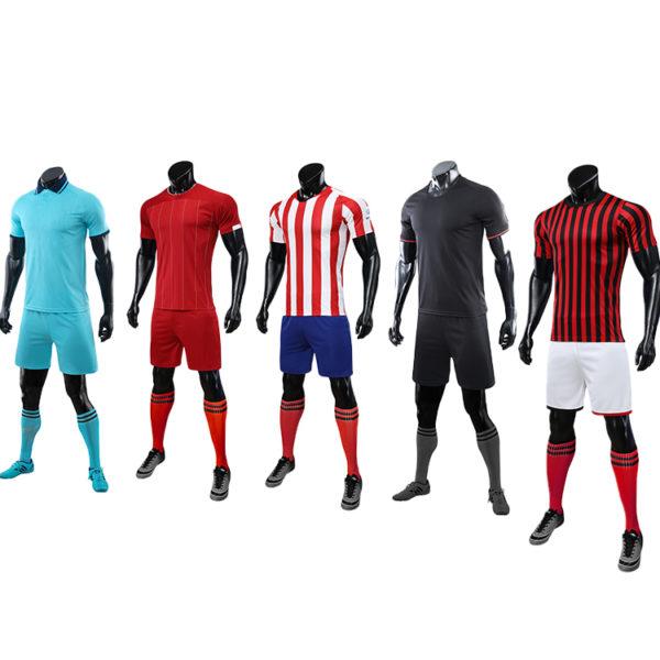 2019 2020 mens soccer uniform set jersey men football shirt 5