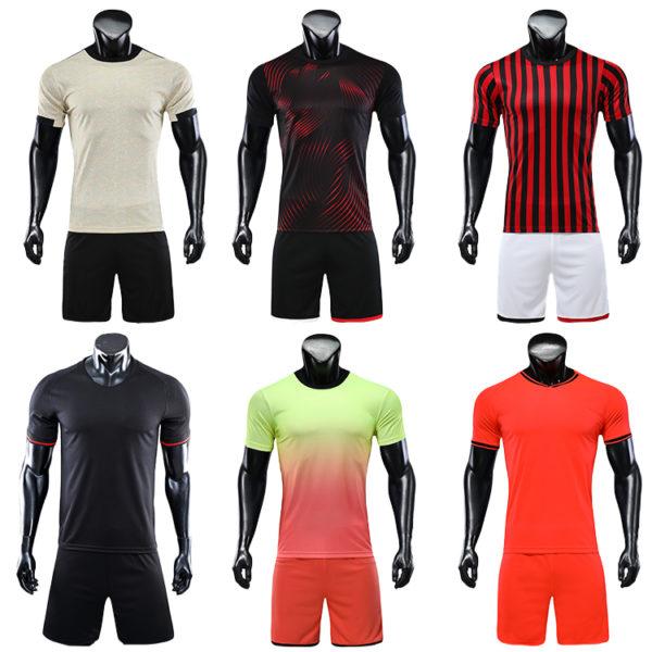2019 2020 orange soccer uniforms jersey men football shirt 1