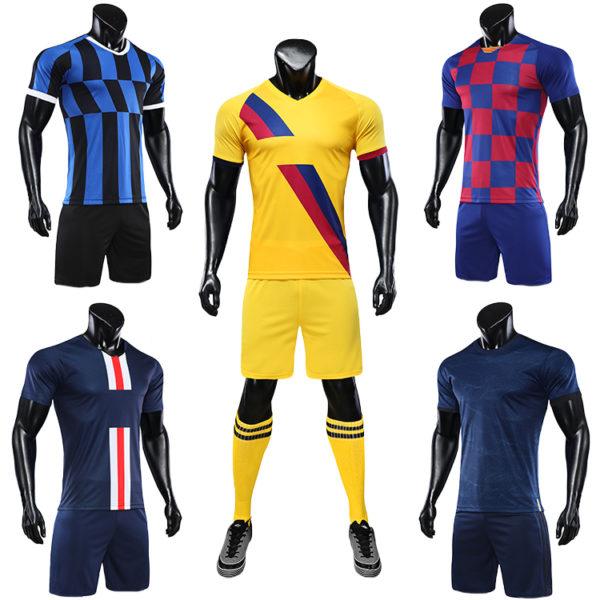 2019 2020 orange soccer uniforms jersey men football shirt 3