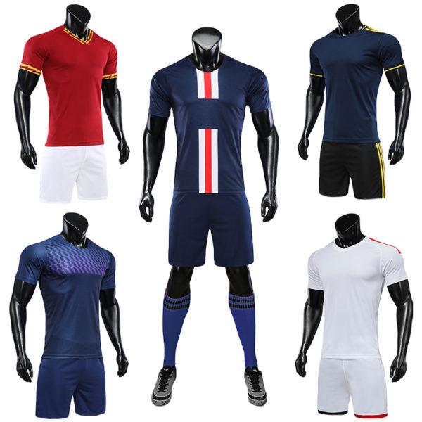 2019 2020 orange soccer uniforms jersey men football shirt 4