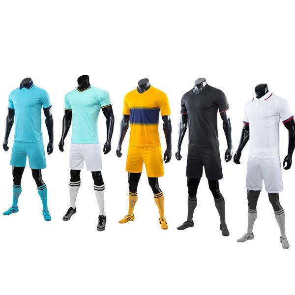 2019 2020 soccer ball short sleeve jersey 3