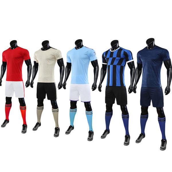 2019 2020 soccer jersey kids blue yellow retro football shirts 1