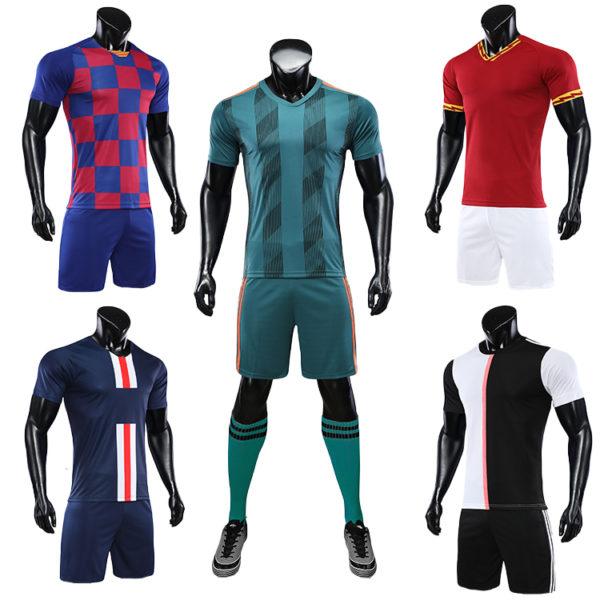 2019 2020 soccer training equipment tracksuit team set 1