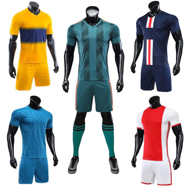 2019 2020 soccer training equipment tracksuit team set 2