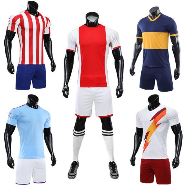 2019 2020 soccer training equipment tracksuit team set 3