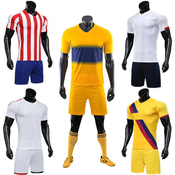 2019 2020 soccer training equipment tracksuit team set 4