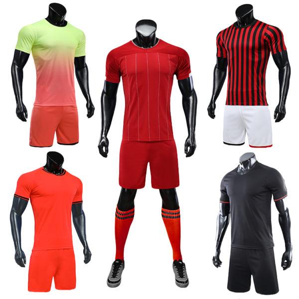 2019 2020 soccer training equipment tracksuit team set 5