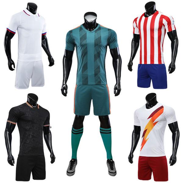 2019 2020 soccer training equipment tracksuit team set 6